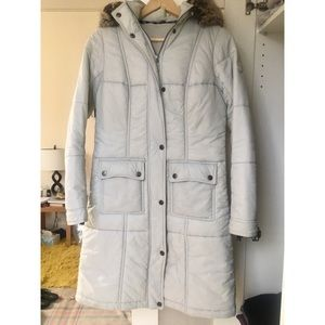 Barbour Icefield quilted long puffer jacket coat